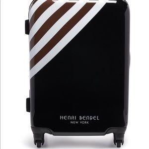 New Henri Bendel Hard Sided Wheelie Suitcase